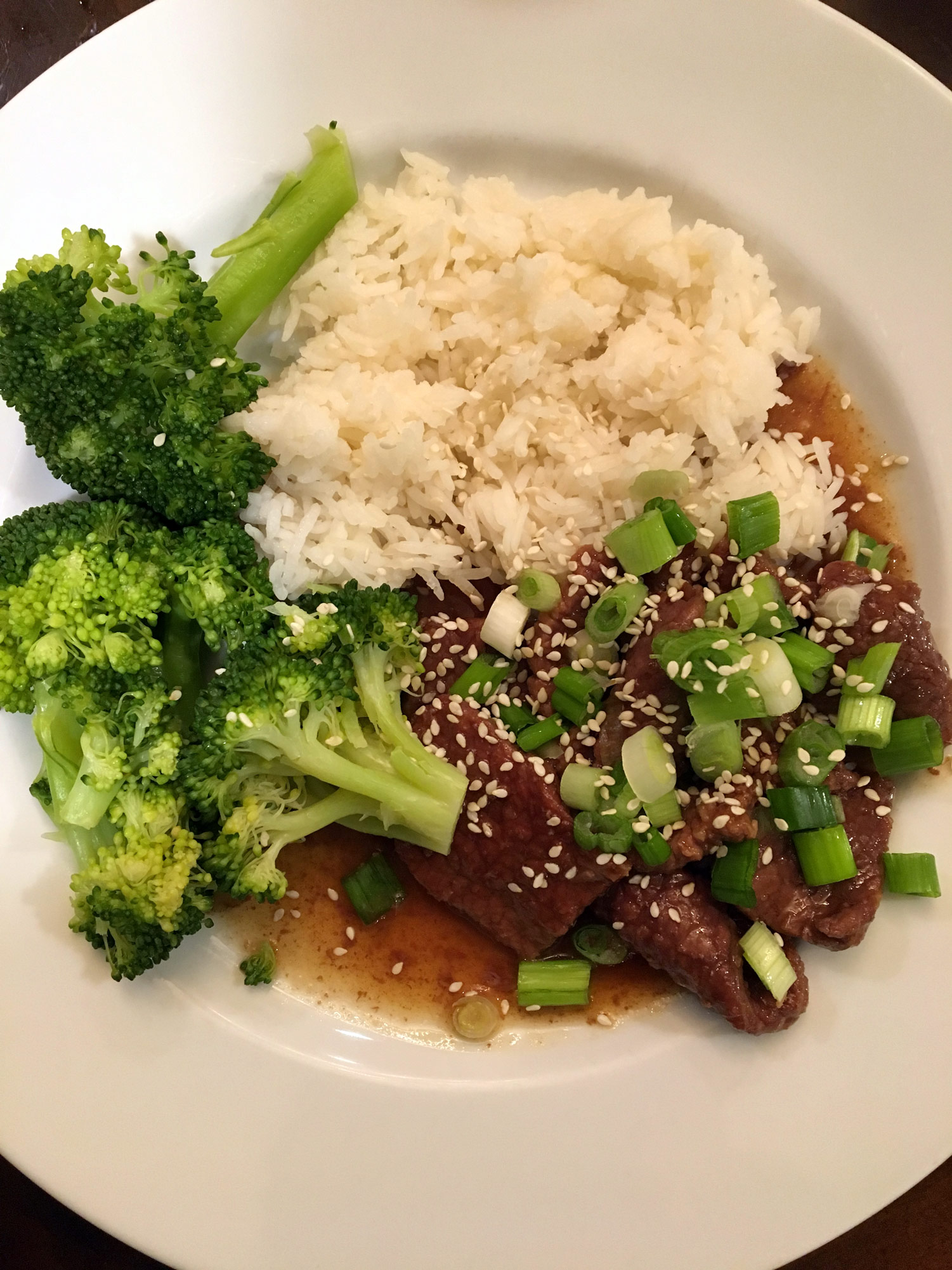 Mongolian beef and broccoli with rice emi ponce de souza turning mongolian beef and broccoli with rice forumfinder Choice Image