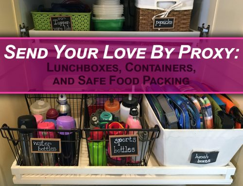 How to Send Your Love By Proxy: Lunchboxes, Containers, and Safe Food Packing