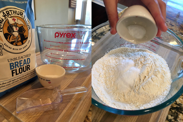 dough dry ingredients