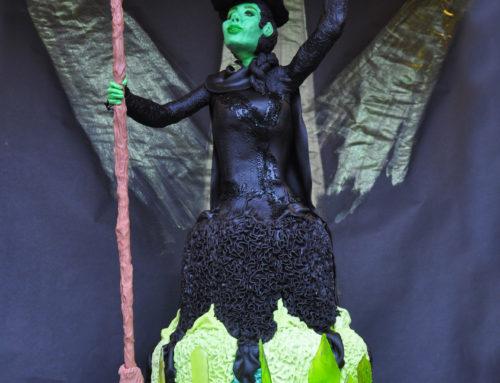A Wicked Elphaba Cake