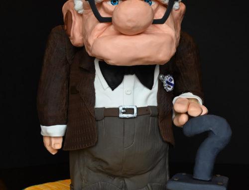 Mr. Frederickson from PIXAR's Up Cake
