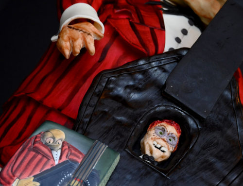 The Nightmare Before Christmas Bassist Cake