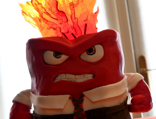 An Angry Birthday Cake – Anger from PIXAR's Inside Out