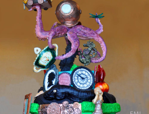 A Series of Unfortunate Events Cake